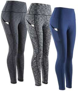 Wholesale Unbranded Fitness Clothing High Waist Yoga Pant OEM Custom Gym Woman Fitness Clothes