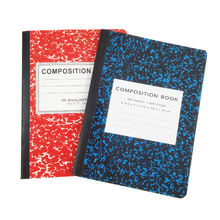 American School Supply 200Pages Hardcover  Marble Composition Stationery  Notebooks