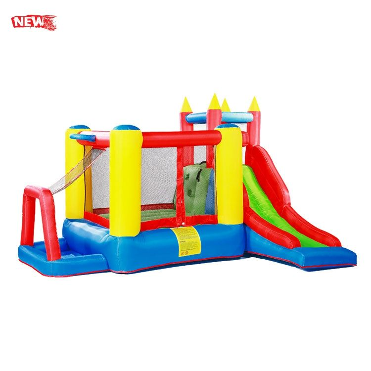 NEW TIME Wholesale New Hot Bouncy Castle Christmas Jumping Mat Haunted House Inflatable Maze