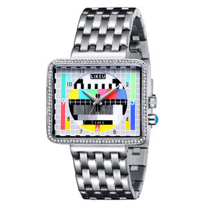 Creative design TV women's fashion Luminous female wrist watch brands