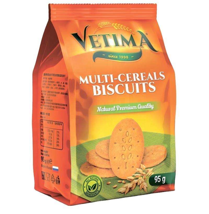Wholesale russia multi-cereals cookies tasty biscuits