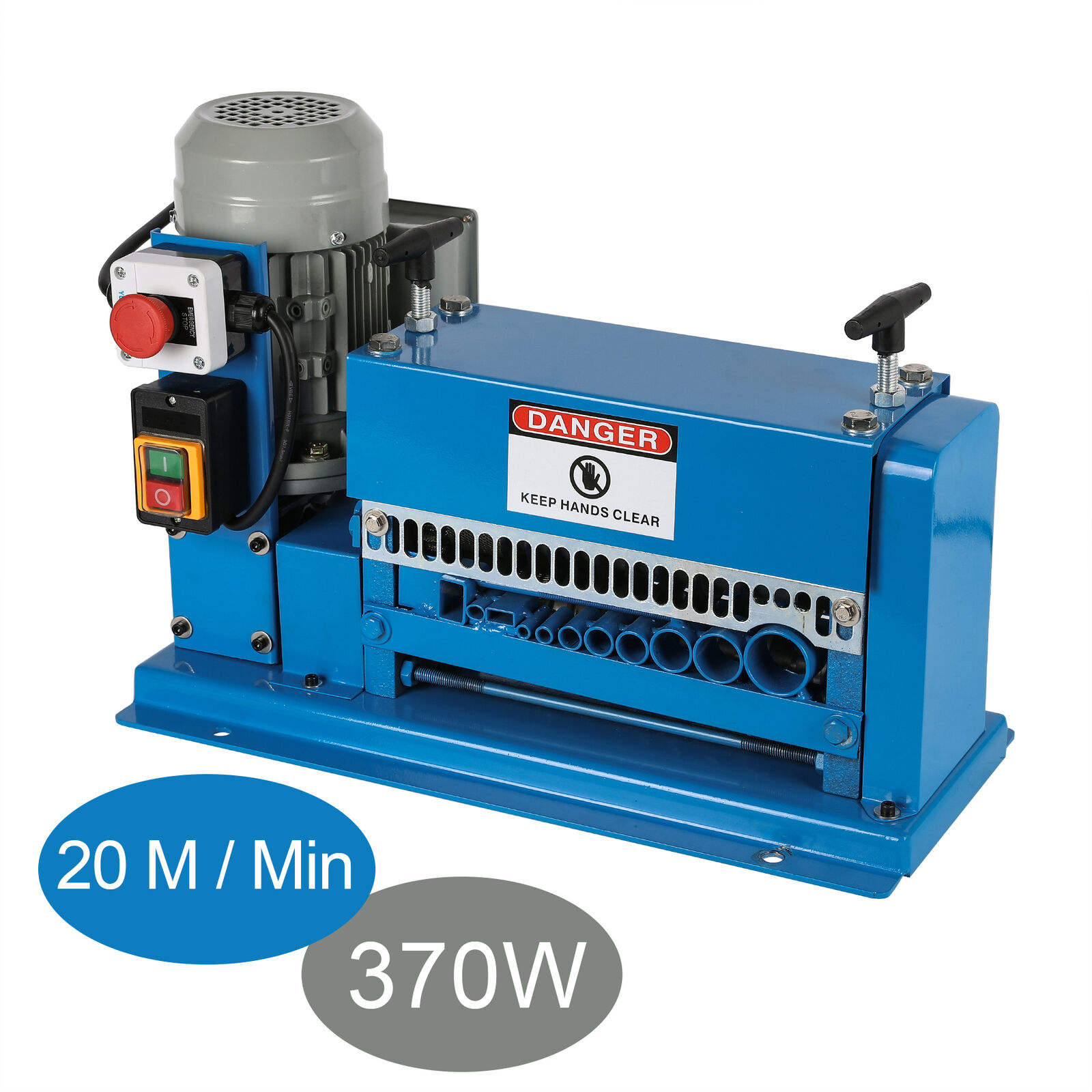 Factory Price 15M/Min Scrap Copper Cable Wire Stripping Machine Recycling Machine Cable Peeling Machine 1-38mm