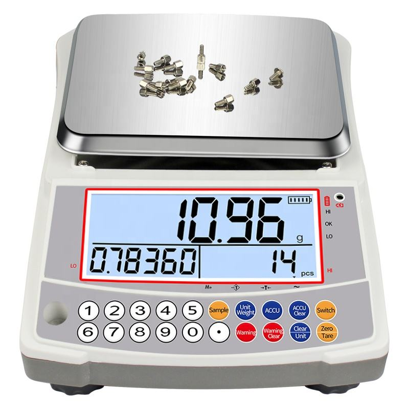 0.01 g Accuracy 3 kg 5 kg Industrial Digital Weighing Parts Electronic Counting Scale Analytical Balance
