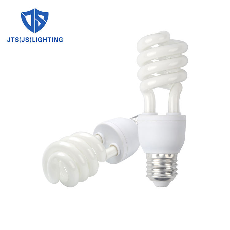 Energy saving lamp cri color pbt B22 E27 220V AC 10w 18w half spiral fluorescent light