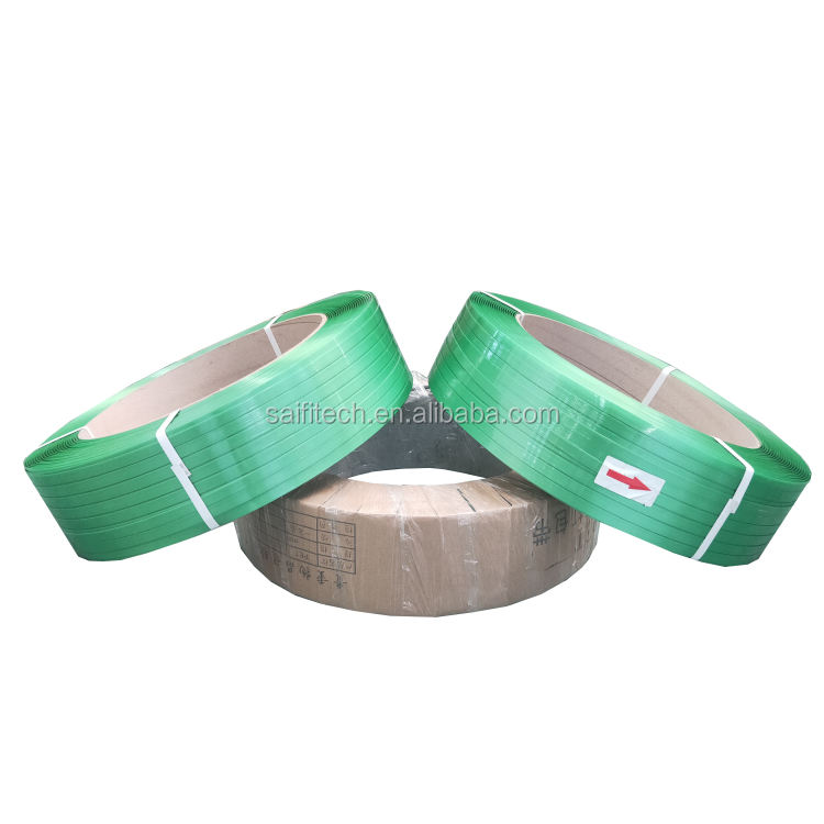 2019 16mm groene pet pakriem plastic <span class=keywords><strong>band</strong></span> banding PET polyester strapping