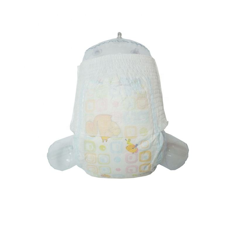 Professional China Wholesale Fine Soft Absorption Oem Baby Diaper Pampering