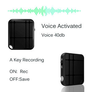 ZD46 spy voice recorder mini 16G hidden audio recorder