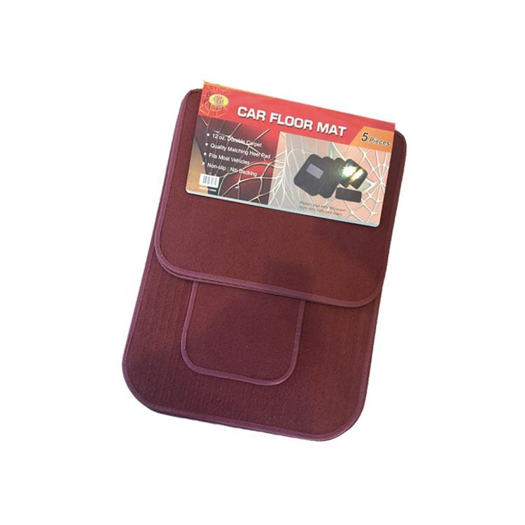 Kuwait Pvc Raw Material Universal Carpet Car Mat with Nib-Backing