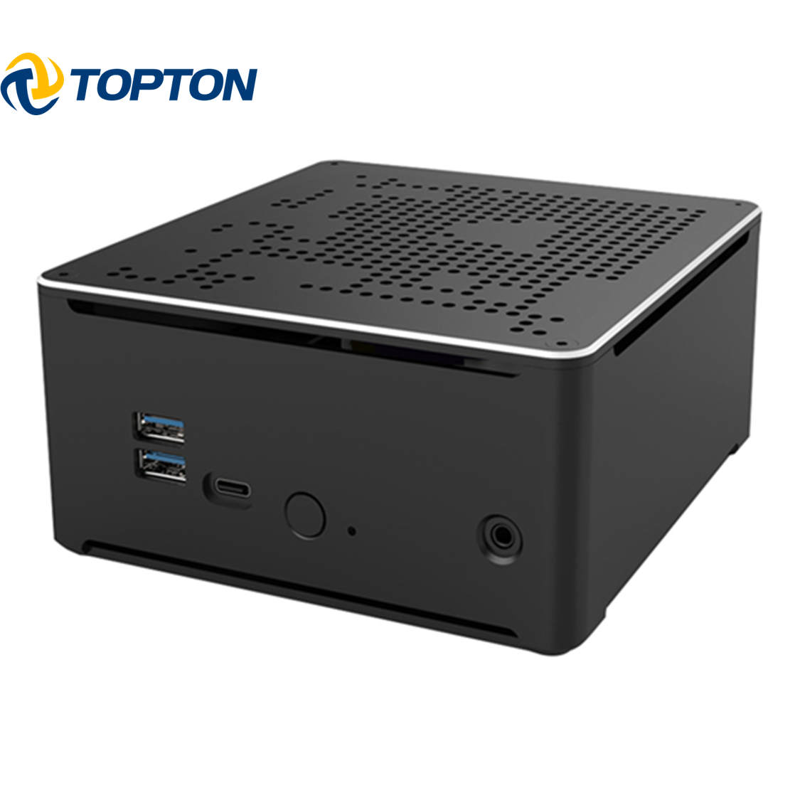 S210H Mini PC Gaming Core I9 9880H/8950HK 2 * DDR4 M.2 NVME Kantor Desktop Komputer <span class=keywords><strong>Laptop</strong></span> Win10 HD DP WiFi 4K HTPC