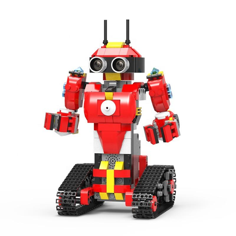 Best battery operated robot toy DIY programmable intelligence building blocks