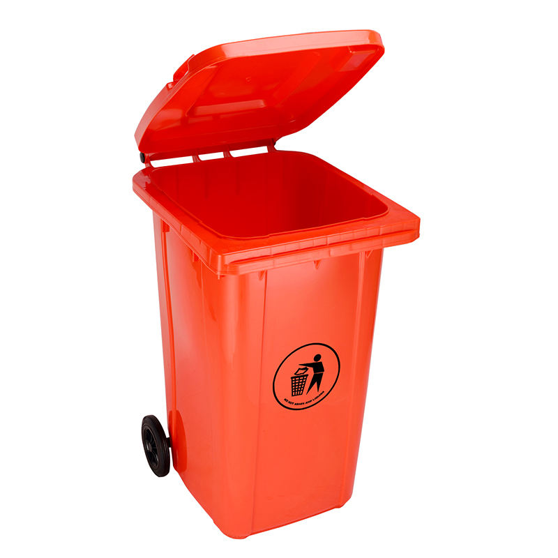 240 litre wheelie bin recycling lid waste bin counter