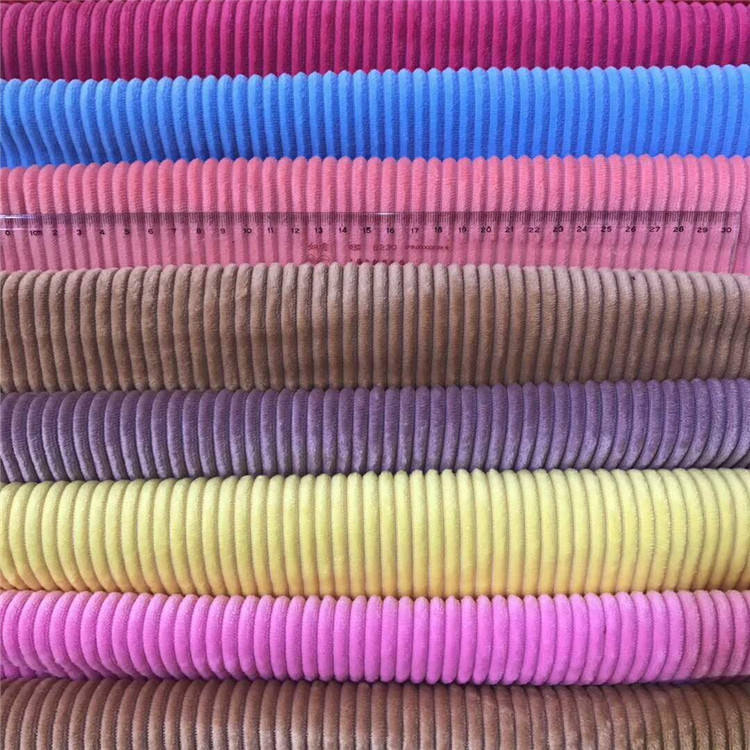 1.5T/2.5T Corduroy toy pillow sofa fabric polyester