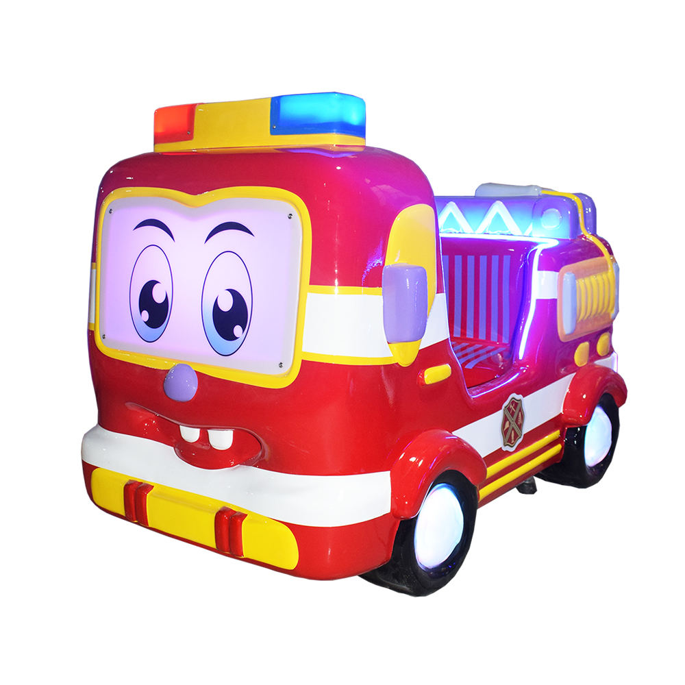 Amusement 3D Kiddie ride with racing games coin operated swing machine car racing game for kids