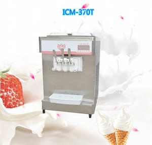 Nuovo stile commerciale yogurt soft serve ice cream macchina