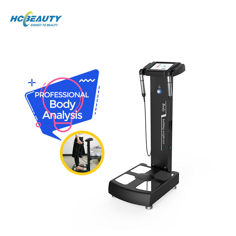 Bmi machine price fat analyzer professional body composition analyzer with printer