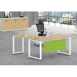 Luxury Commercial Furniture General Use L-shape executive office desk of computer table for ceo manager