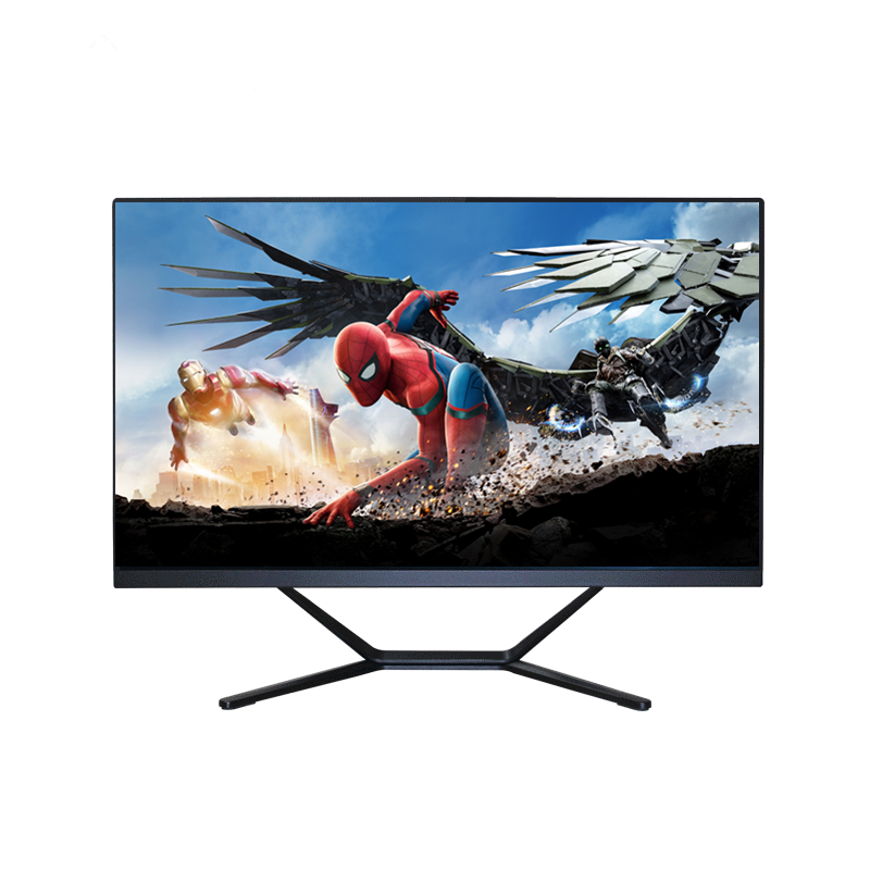 24' large flat screen narrow bezel intel i7 cheap price all in one pc gaming touch screen desktop computer full hd