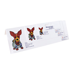 Customized cardboard header cards, cheap paper header card printing ,topper card printing