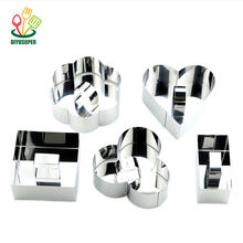 Flower Cookie cutter Stamp Stainless Steel Cake Cookie Cutter Mold Stainless Cake