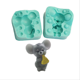 Silicone Fondant Mold Mouth & Cheese For DIY Baking