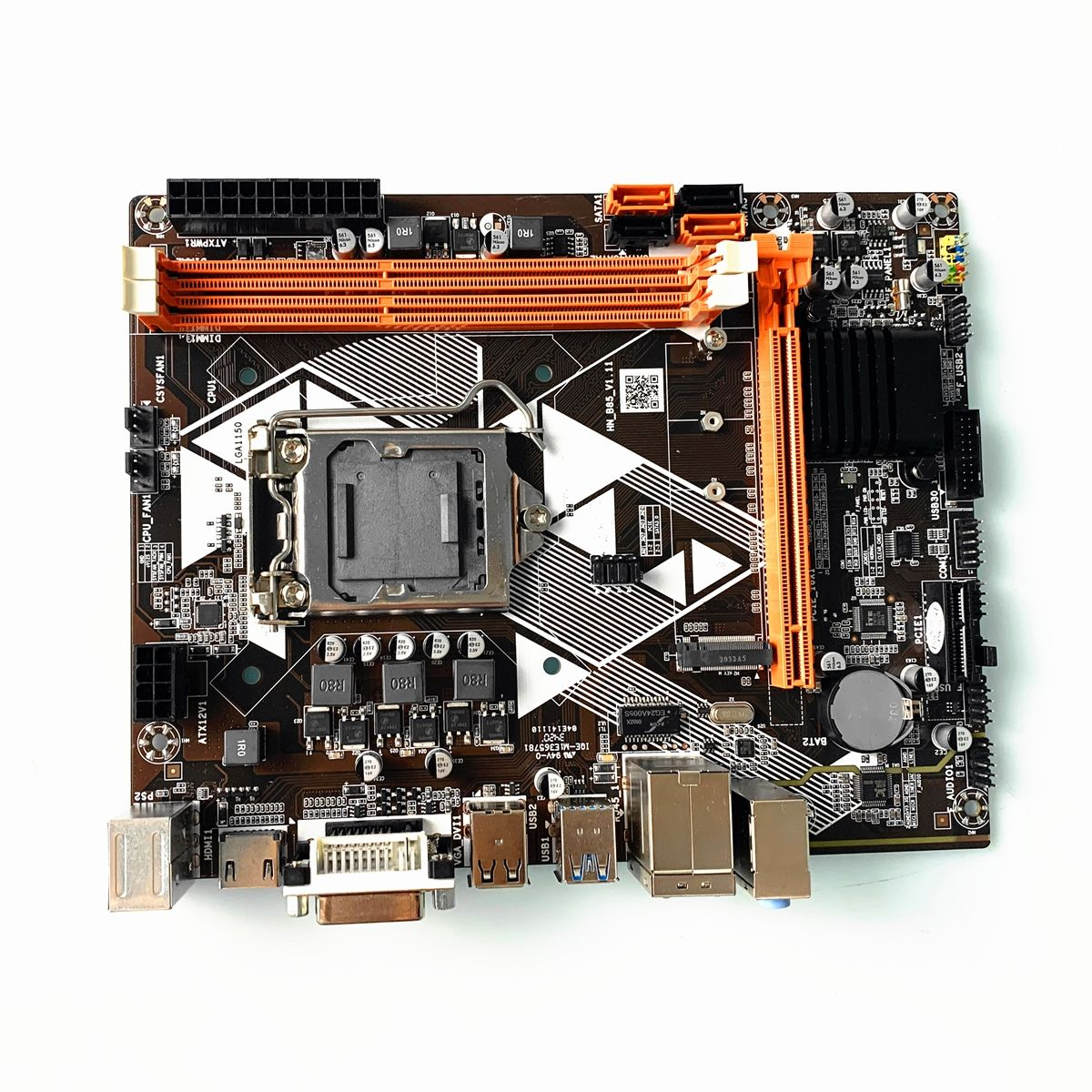 OEM New mainboard b85 lga 1150 support 2* ddr3 ram and usb 3.0 motherboard for gaming PC