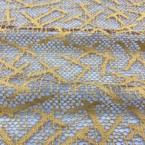 Customized gold lace fabric chantilly lace fabric african lace fabrics nigerian with cheapest price