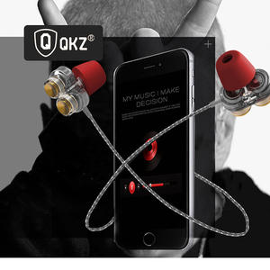 QKZ KD7 Universal In-Ear Headphones Sports Magic Sound Double Bass In-Ear Headphones with Microphone