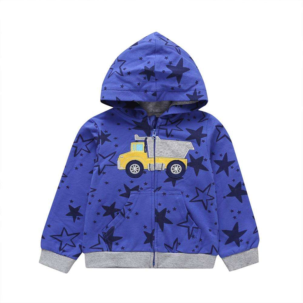 Children's hoodie autumn and winter fashion boys coat wholesale