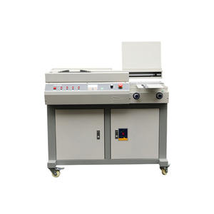 Made In China Printing Shop Use Double Mode 55mm Wireless Book Glue Binding Machine Automatic Glue
