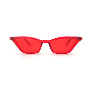 2020 New Arrival Womens Cheap PC Transparent Frame Sun Glasses Sunglasses