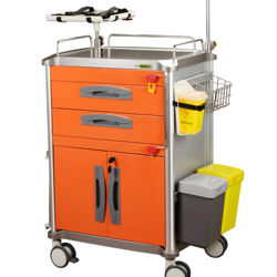 hospital anesthesia cart with CE FDA certification