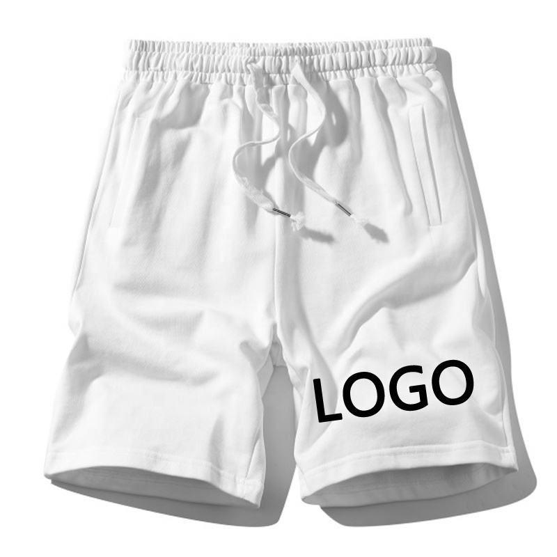 100% 綿Custom Fitness Clothing Sport Shorts Gym Track Pants Mens Blank Sweat Pants Joggers Shorts