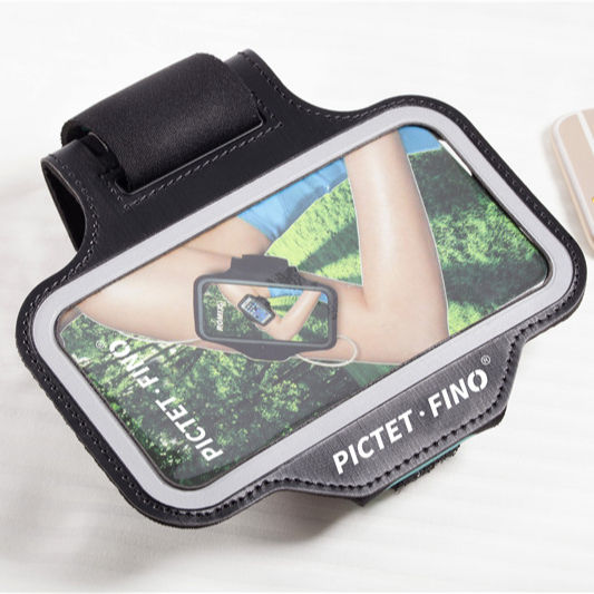 Running Armband Gym Sports Phone Case Bag Outdoor Climbing Cycling Arm Bands PVC Touch Screen
