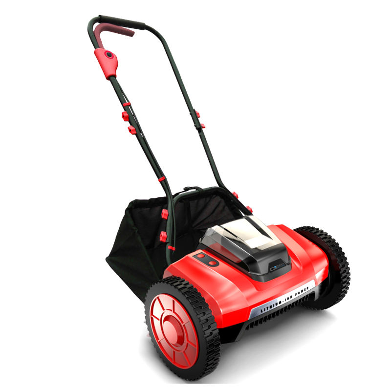 top rated battery powered cordless mulching operated small cheap reel mini lawn mower