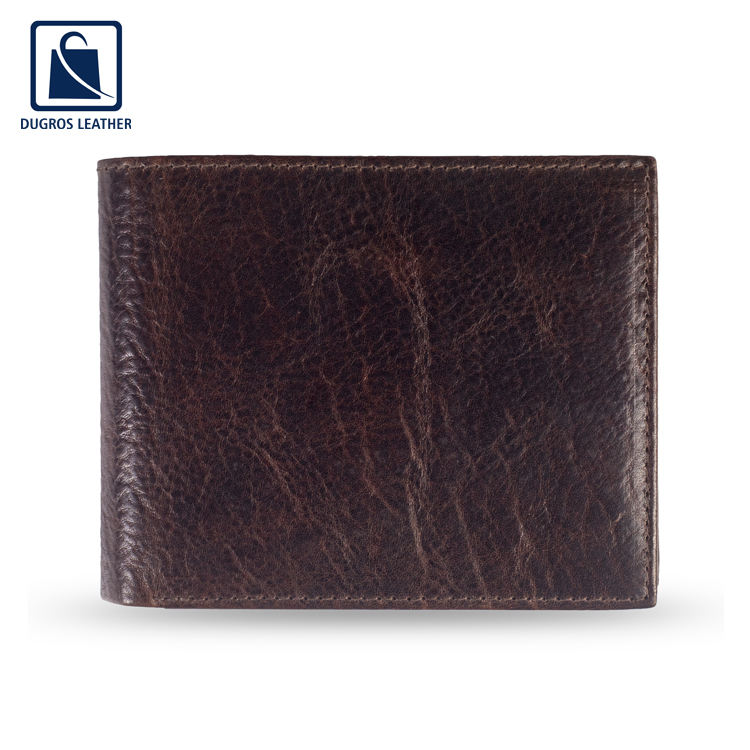 Factory Bulk Supply of Superior Quality Leather Made Men Wallet for Universal Buyers
