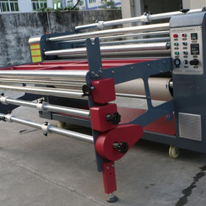 Calendar fabric printing roll machine sublimation heat press / roll to roll heat transfer machine