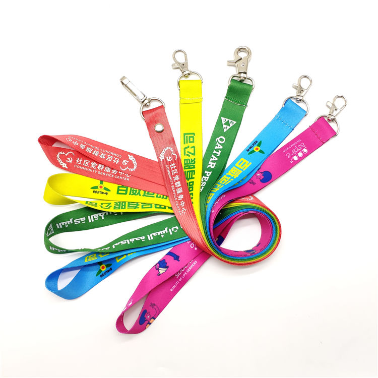 Qatar A320 Dye Sublimation Lanyard Set