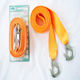 Tow Rope Car Tow Cable Towing Strap Rope With Small Forged Iron hooks