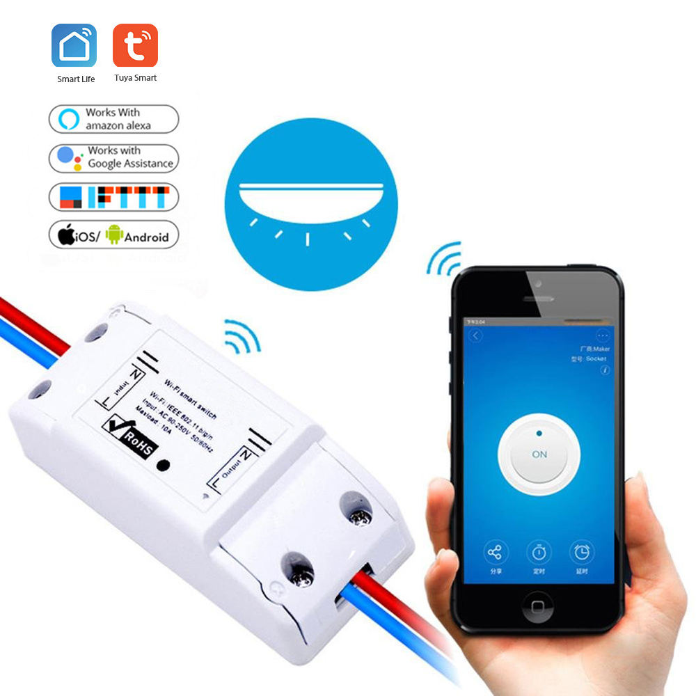 Smart Wifi Switch DIY Remote Wireless Wifi Light Switch