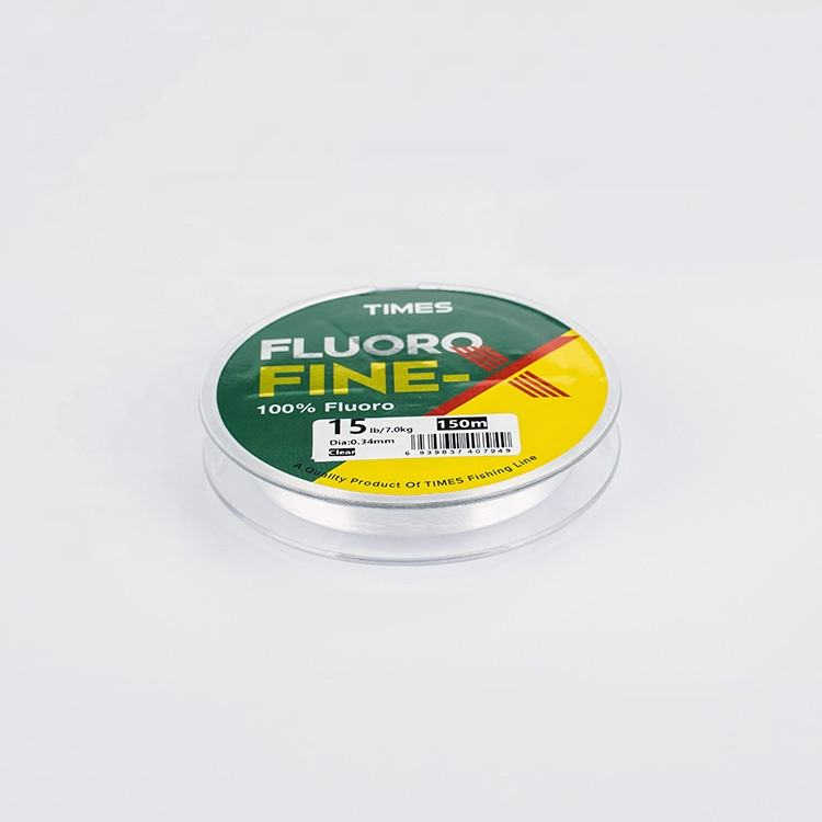 Factory supply with line spooler incredible thin diameter fluorocarbon fishing line 50m