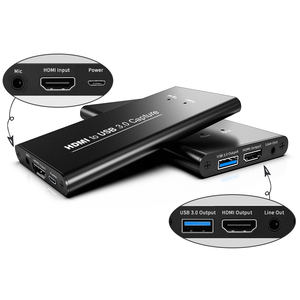 4K HDMI in 1080p USB30 Capture card support game capture hd60 s