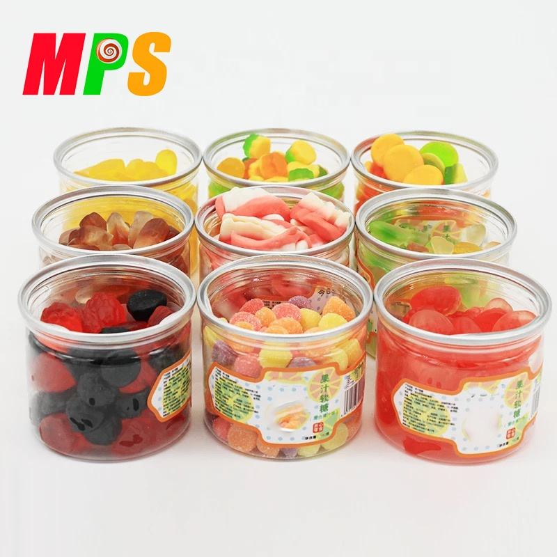 OEM Different kinds mix flavor sweet soft jelly gummy candy factory