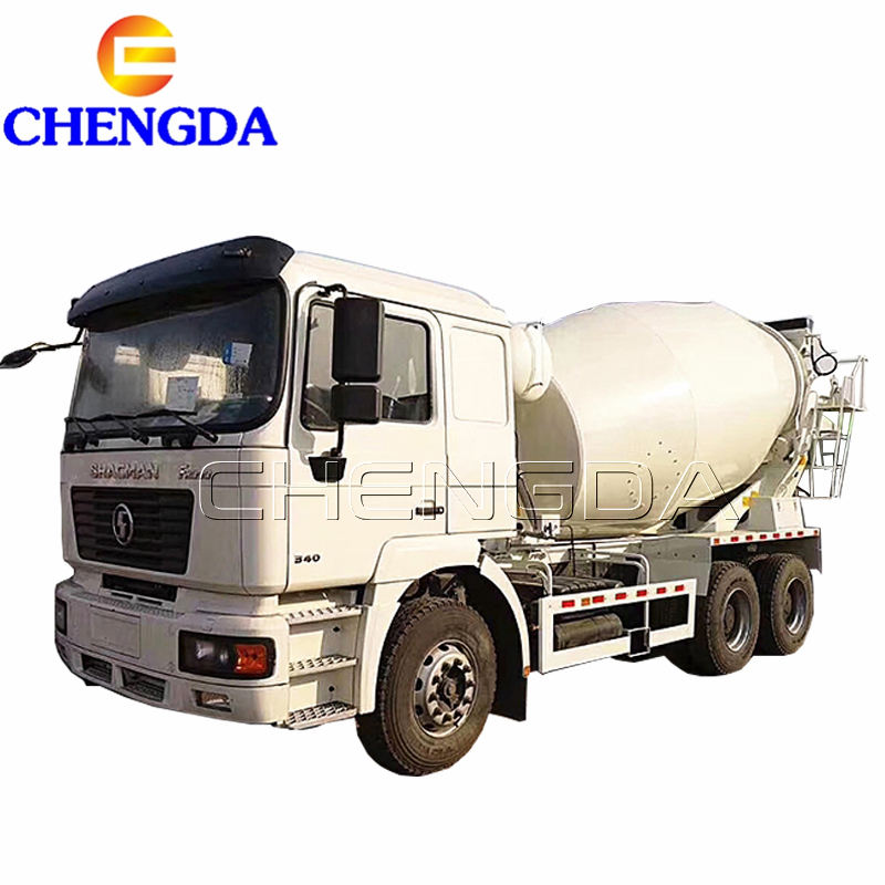 shacman 380 hp 10 cubic meters concrete mixer truck concrete truck mixer price