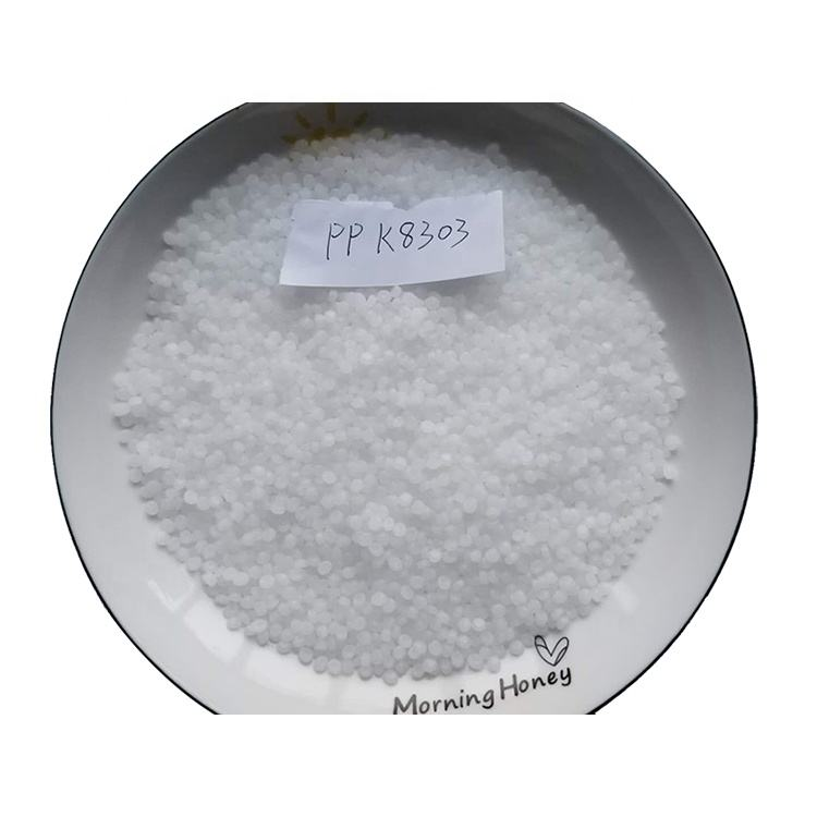 K8303 Plastic products raw material high impact block copolymer polypropylene particles