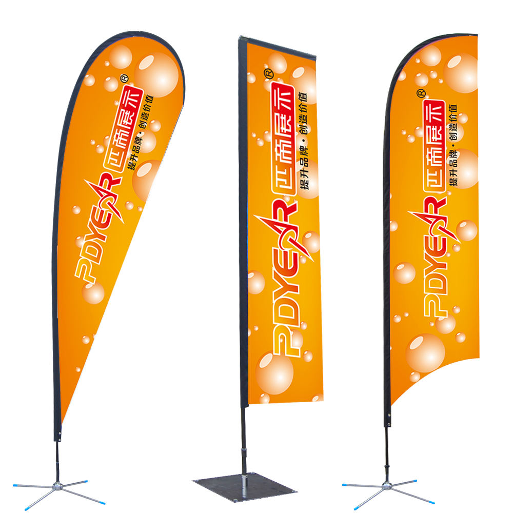 Advertising Custom Flying Banners bali bow sail swooper Teardrop Flag ,Feather Flag Banners,Beach Flags