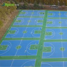 Children's Playgound/Basketball Court Synthetic Flooring