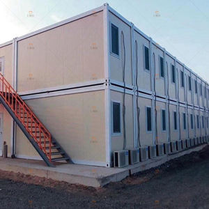 Prefabricated Flat Pack Container Homes Office Container House