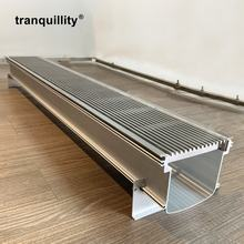 Stainless Steel Outdoor Drain 145*100  Grate Swimming Pool Garage Floor Drain Trench Drain Channel Outdoor Drainage Channel