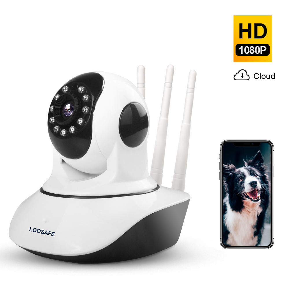 Loosafe HD 1080P Camera Ip Wifi Smart Home Wireless Onvif P2p Wifi Cam Ip Cctv Camera Hd
