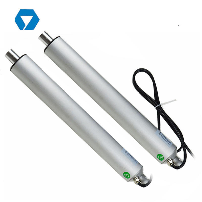 200mm 400mm 600mm 1000mm 1500mm stroke 12V Tubular linear actuator price for skylight